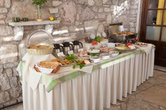 Breakfast buffet in Grekis Hotel