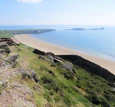 4. Rhossili Bay, Rhossili, Swansea