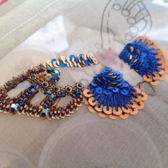 Embroidery butterfly bead 34 Ideas for 2019 Tambour Beading, Tambour Embroidery, Couture Embroidery, Embroidery Fashion, Embroidery Jewelry, Ribbon Embroidery, Embroidery Patterns, Sequin Embroidery, Butterfly Embroidery