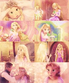 I love this movie so much. Rapunzel is just the greatest! I'm so glad she's finally a Disney Princess! <3