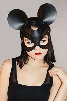 Red Black and Peach Metallic Masquerade Mask Red Black and Peach Mask