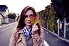 Autumn inspiration with Mac lipstick & leaves from peoples yards Dry Leaf, Mac Lipstick, Autumn Inspiration, Yards, Coat, People, Instagram Posts, Jackets, Leaves