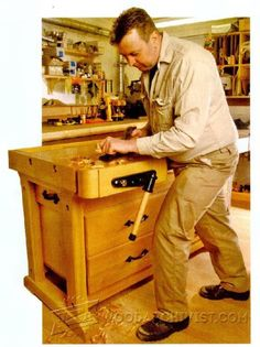 Woodworkers Bench Plans - Workshop Solutions Projects, Tips and Tricks | WoodArchivist.com