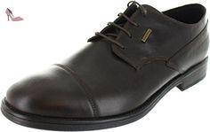 Geox U Dublin C, Chaussures de ville homme - Noir (Black), 43 EU