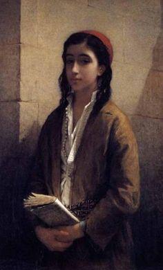 "Henriette Browne, ""La belle juive"" (""The Beautiful Jewess"")"