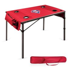 Use this Exclusive coupon code: PINFIVE to receive an additional 5% off the Philadelphia Phillies MLB Red Travel Table at SportsFansPlus.com