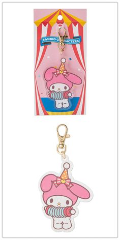 My Melody Key Chain (Circus)  If you wanna buy, contact: info@route19-store.com