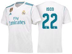 Real Madrid 17-18 Home Shirt isco