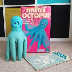 New addition to the Stretch Crew. #1978 #stretchoctopus Not for sale #stretcharmstrong #kenner #vintage #vintagetoys #toycrewbuddies #vacman #kenner #70stoys #80stoys #raretoys #stretch