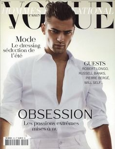 """""""The great ones stay constant and coveted in the eyes of fashion's key clients. The truth of that is the enviable career that Sean Opry has chalked up. Like every prior No 1 Sean has consistently kept brands such as Versace, Calvin Klein, Hugo Boss and Armani in his booking camp. More importantly he looms as one of the great memorable presences in men's modeling. Here's to a definitive long distance runner."""""""