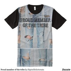 Proud member of the tribe All-Over print t-shirt