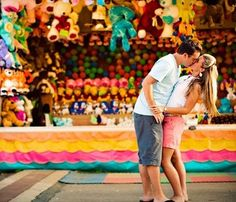 Fantasizing about that scene in The Notebook when they get stuck at the top of the Ferris Wheel? It could happen, or you can keep your feet on the ground and enjoy the cheesy games. Just watching him try to win you a prize is hot.