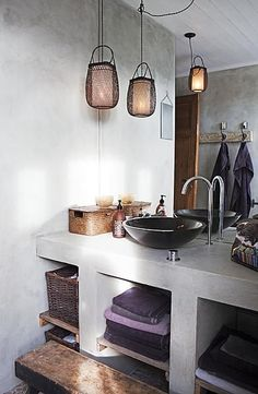 Inspiration from Bathrooms.com: What can we say about this under-basin storage other than it's handsomer than Johnny Depp and probably much more practical.  #whitebathrooms #bathrooms #showerrooms #wetrooms #bathroomstorage
