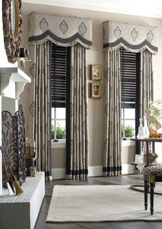 Image result for custom window treatments for arched windows