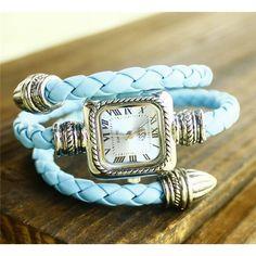 Modello Designer Wrist Watch- Blue - New Arrivals- - TopBuy.com.au