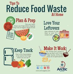 5 tips to reduce food waste at home - Arctic Apples Food Waste Management, Reduce Waste, Zero Waste, Un Book, Recycling Information, Waste Reduction, Food Technology, Sustainable Food, Sustainable Living