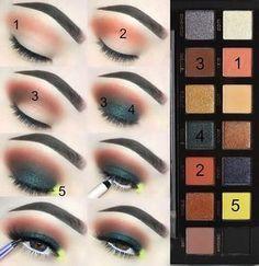Anastasia Beverly Hills Prism Eyeshadow Palette Tutorial   Step by Step Dramatic Green Eyeshadow Look for Hazel Eyes