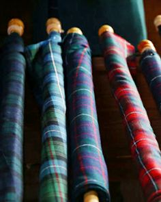 Bolts of Tartan ~ Scotland