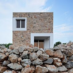 Conjunto residencial en el campo por DVA architects.