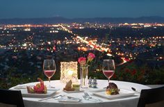I wanna have dinner here. Different Pointe of View, Phoenix, AZ