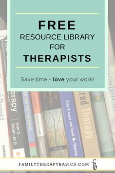 Family Therapy Basics: Want to simplify your work? Get access to the free resource library for therapists, counselors, and mental health professionals. It's full of templates, summaries, and checklists to make your therapy sessions easier! Mental Health Therapy, Mental Health Counseling, Counseling Office, Mental Health Resources, Life Counseling, Elementary Counseling, Elementary Schools, Therapy Tools, Music Therapy