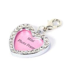 Bestpriceam Rhinestone Identity Card Heart Lovely Pet Pendant Necklace Pet Jewelry >>> For more information, visit now : Cat Collar, Harness and Leash