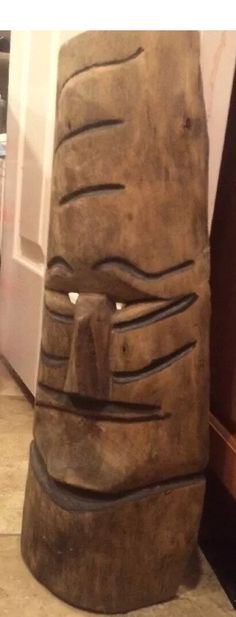 A personal favorite from my Etsy shop https://www.etsy.com/listing/466087627/hand-carved-old-wood-tiki-mask-hawaii