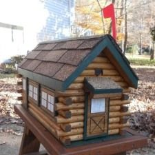 Log Cabin Mailbox, Handcrafted Log Mailbox, Rustic Decor, READY TO SHIP,  Cabin Decor, Hand Painted Rustic Mailbox | Log Cabins, Cabin And Logs