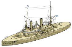 Arpeggio Of Blue Steel, Concept Ships, Weapon Concept Art, Navy Ships, Submarines, Ship Art, Model Ships, Dieselpunk, Battleship