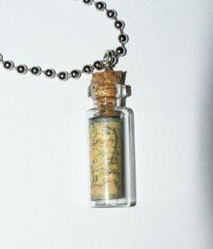Middle Earth in a Bottle by radnicknacks on Etsy
