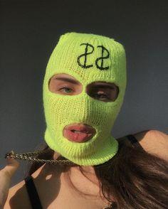 Sister Wallpaper, Girl Gang Aesthetic, Thug Girl, Gangster Girl, Mask Girl, Hat Embroidery, Balaclava, Lany, Dance Videos