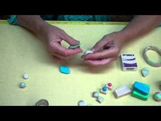 Video: premo! Faux Stone Part 1: how to make faux opal.  #Polymer #Clay #Tutorials