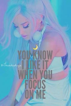 Ariana Grande Focus lyrics