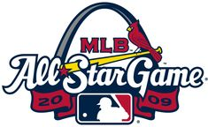 MLB All-Star Game Primary Logo (2009) - 2009 MLB All-Star Game at Busch Stadium in St. Louis, Missouri