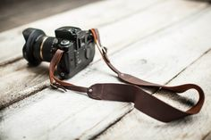 Genuine Leather DSLR Camera Strap Made in the от AuthenticSundry