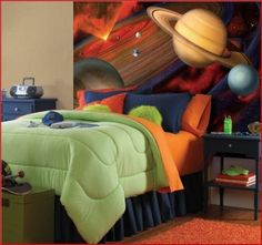 Amazing  Space Room Decor for Kids