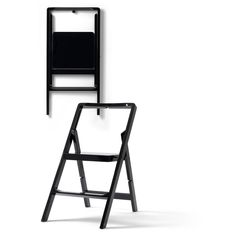 STEP MINI - Lacquered Step Ladder/Folding Chair