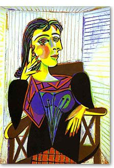 One starts to get young at the age of sixty and then it is too late. ~Pablo Picasso~ 60th Birthday Quotes Portrait of Dora Maar by Pablo Picasso