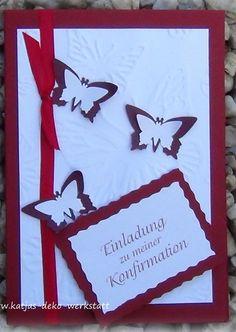 Einladungskarte Kommunion Konfirmation Taufe Firmung Geburtstag Danksagung Karte