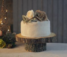 Rustic Wedding Cake Stand Wood Cake Stand wood by GFTWoodcraft