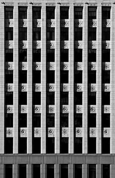 Starry Building by UrbanCyclops, via Flickr Art And Architecture, Architecture Details, Social Housing, Guys Be Like, Window Wall, Wow Products, Facades, Sacred Geometry, Textures Patterns