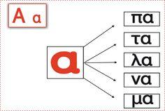 Κάθε μέρα... πρώτη!: Αντίο θάλασσα (2) Greek Alphabet, Projects To Try, Symbols, Letters, School, Greek, Icons, Schools, Lettering