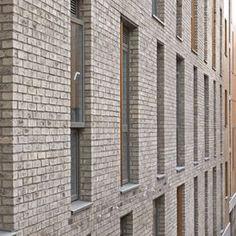 Edinburgh University, Holyrood Road Facing Brick, Architecture