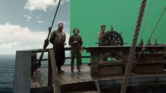 Why working with green screen is so difficult, according to the Game of Thrones…