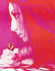 Cher  Vogue US, December 1972  Photographer: Richard Avedon
