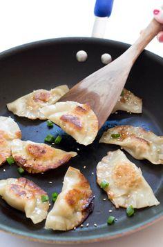 Asian Chicken Dumplings (Two Ways)