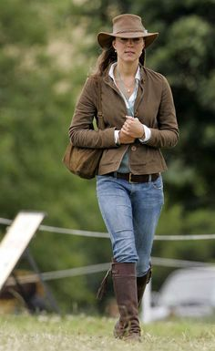 Kate Middleton attends the Festival of British Eventing at Gatcombe Park on Aug. 6, 2005, in Stroud, England.