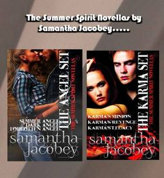 RELEASE DAY - the last of the Karma books is available!! DARKER, SEXIER and ALL GROWN UP, Charlie is ready to be Karma's Minion. Will she keep her promise and give him Clarisse for eternity?  Find out in the Summer Spirit Novella Series! FREE SUMMER ANGEL hyperurl.co/sh19fm The rest for 99 CENTS or FREE on KU DARK ANGEL hyperurl.co/ose807  FORGOTTEN ANGEL hyperurl.co/aqn265  KARMA'S MINION smarturl.it/ckvk76  KARMA'S REVENGE smarturl.it/tqeer8 KARMA'S LEGACY smarturl.it/8lvz2j