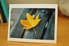 Stand Out Blank Notecard by louisaelisabeth on Etsy, $3.00