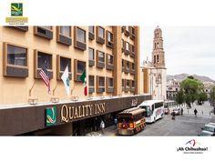 https://flic.kr/p/tYcrDd   TURISMO EN CHIHUAHUA LO INVITA A HOSPEDARSE EN SU PRÓXIMA VISITA EN EL HOTEL QUALITY INN CHIHUAHUA 4   A dos cuadras del H. Ayuntamiento de Chihuahua, se encuentra estratégicamente ubicado nuestro HOTEL QUALITY INN CHIHUAHUA, en la calle de Victoria # 409 Col. Centro. A un costado de la Catedral. Ponemos a disposición de nuestros huéspedes todo el confort y servicios de un Gran Hotel. Contamos con restaurante y gimnasio; En su próxima visita de negocios o placer lo…